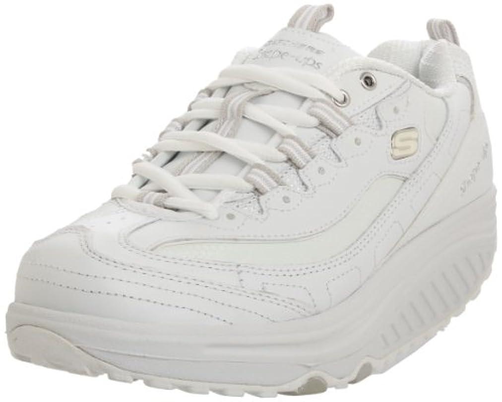 モンク誕生日洪水[スケッチャーズ] Women's Shape Ups Metabolize Fitness Work Out Sneaker,White/Silver,11 M US 141[並行輸入]