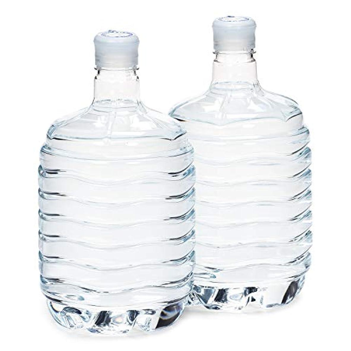浪費モンゴメリー絶滅した箱島湧水エア 8Lx2本入 ウォーターサーバー対応ボトル