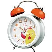 誠時(セイジ) 置時計 ミニアニマルボイスクロック ニワトリ MA-002 アラーム音ニワトリの鳴き声