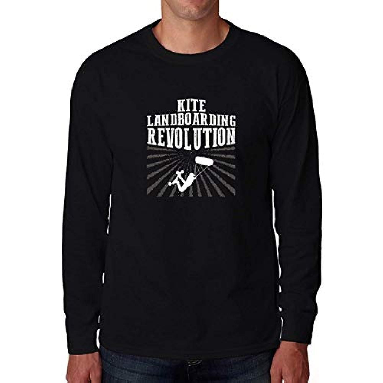 Kite Landboarding revolution 2ロングスリーブTシャツ