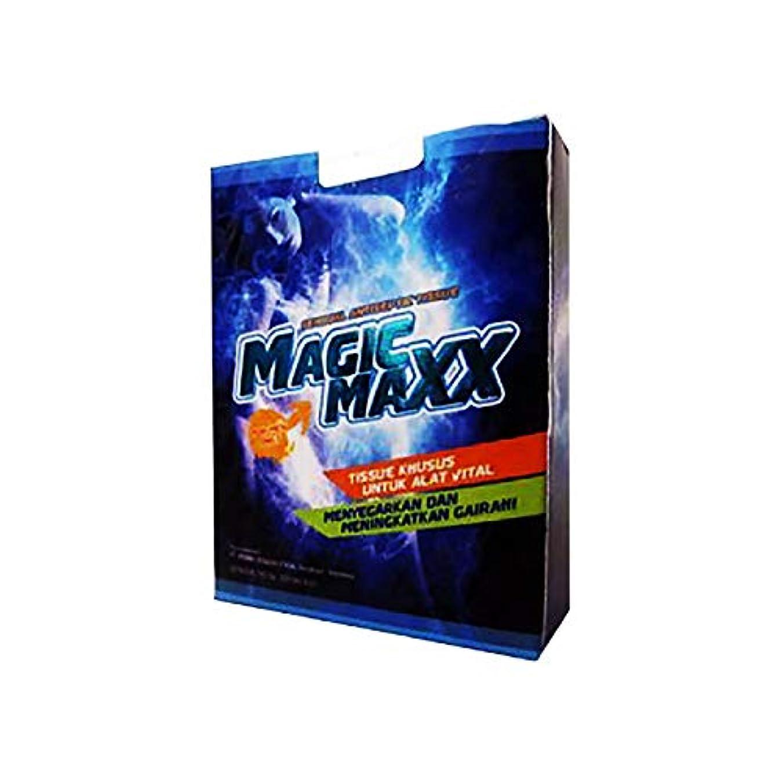 カスケードハチ貫通するマジックマックス MAGIC MAXX ウェット ティッシュ 1箱(8枚入)WEED社製日本語取説付