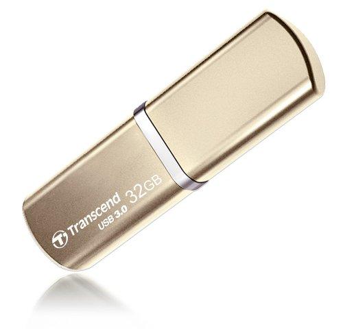 USBメモリ 32GB USB 3.0 キャップ式 ゴールド TS32GJF820G