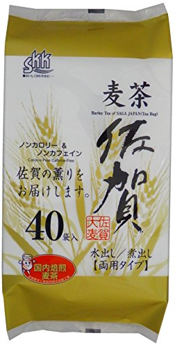 三栄興産 (セット販売) 佐賀県産麦茶 10g×40P(I)×8個