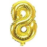 candyfouse1PCS 40インチ デジタル 0-9番号バルーン 結婚式 誕生日 パーティー装飾