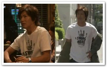 キムタク 着 hero david lindwall 1 5 7話 S tシャツ
