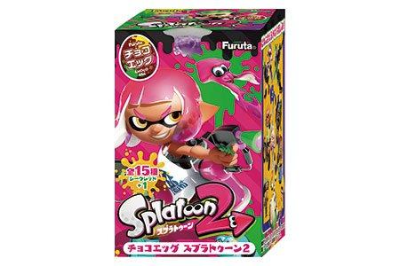 チョコエッグ スプラトゥーン2 10個入りBOX(食玩)