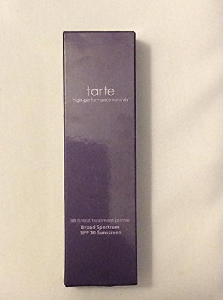大佐考古学的な半円tarte BB tinted treatment 12-hour primer SPF 30 Medium