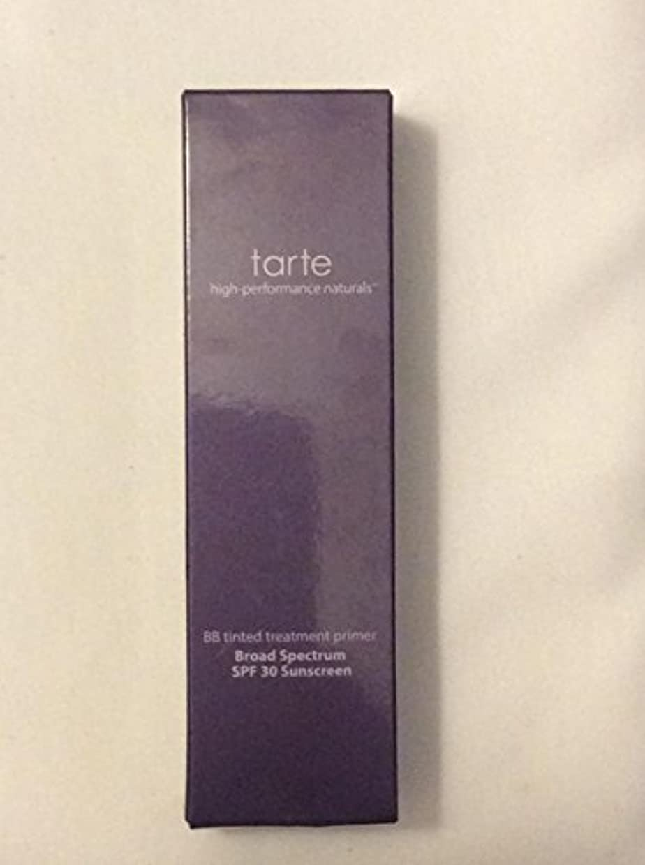 インテリア手荷物贅沢tarte BB tinted treatment 12-hour primer SPF 30 Medium