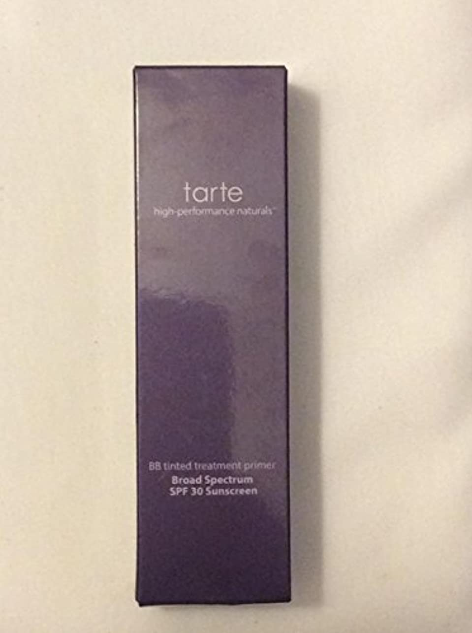 溝担保ナプキンtarte BB tinted treatment 12-hour primer SPF 30 Medium