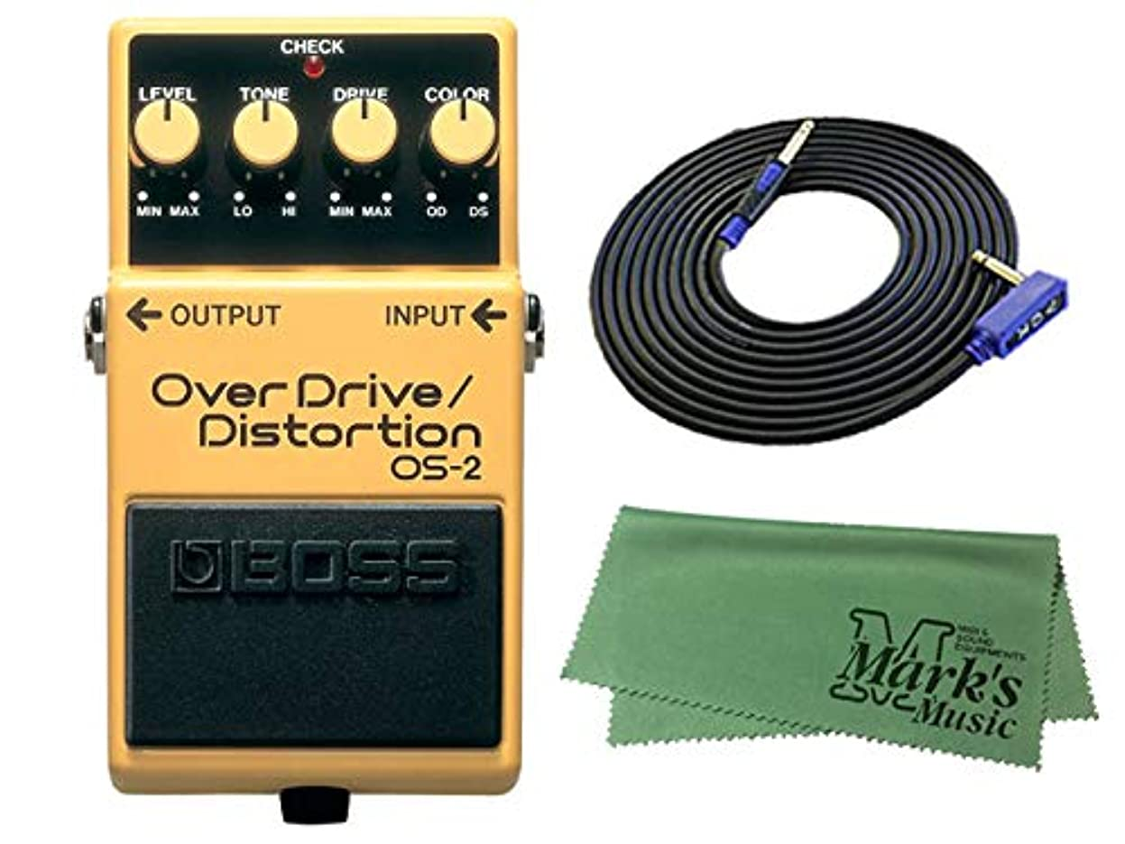 彼らのレキシコン精緻化【3mギターケーブル?VGS-30+クロスセット】BOSS OverDrive/Distortion OS-2