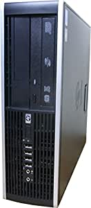 中古パソコン デスクトップ HP Compaq 8100 Elite SFF Core i5 650 3.20GHz 2GBメモリ 250GB Sマルチ Windows7 Pro 搭載 リカバリーディスク付属 動作保証30日間