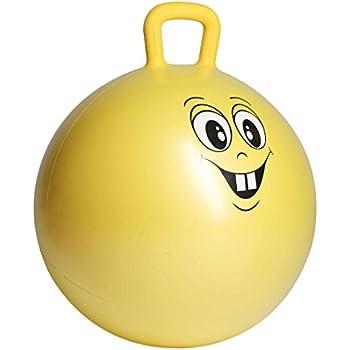 【Amazon限定ブランド】ウルトラスポーツ ジャンプボール スペースホッパーボール 3歳以上の子ども向け ハンドル付き直径450mm