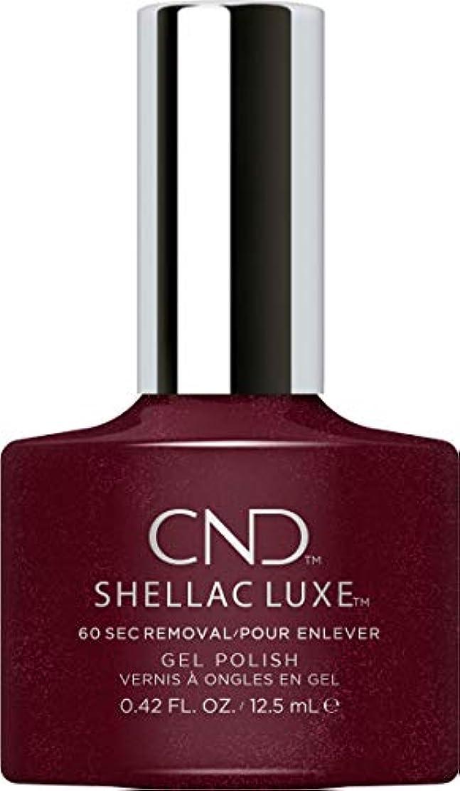 トランスペアレントゴルフ防止CND Shellac Luxe - Masquerade - 12.5 ml / 0.42 oz