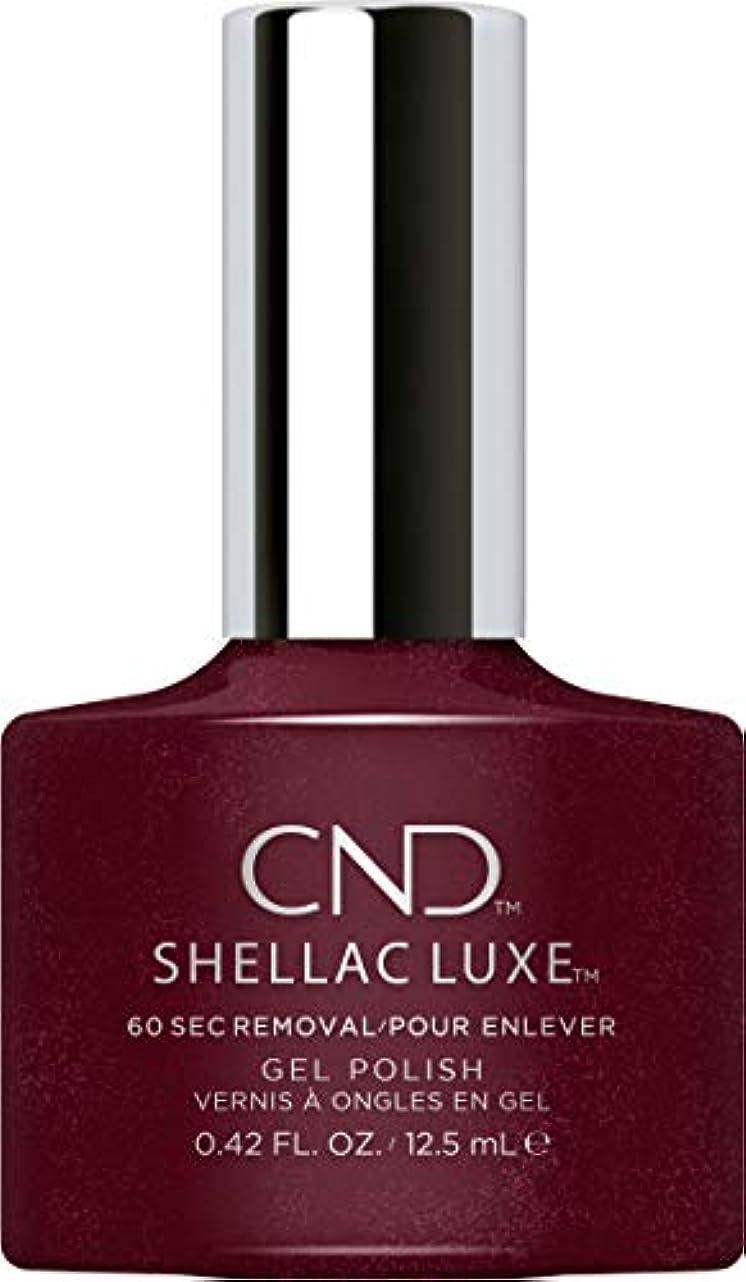ティッシュ恐ろしい寄り添うCND Shellac Luxe - Masquerade - 12.5 ml / 0.42 oz