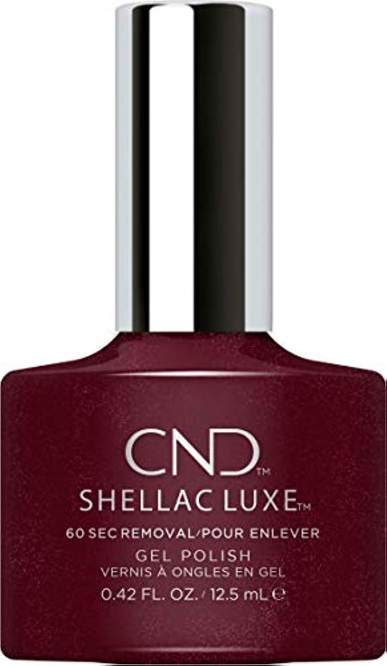 夜咲く精通したCND Shellac Luxe - Masquerade - 12.5 ml / 0.42 oz