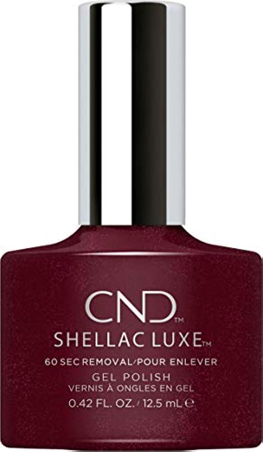 資格レバー素人CND Shellac Luxe - Masquerade - 12.5 ml / 0.42 oz