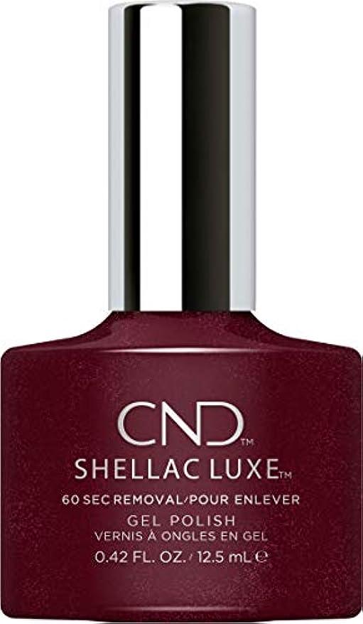 ノート高架切るCND Shellac Luxe - Masquerade - 12.5 ml / 0.42 oz