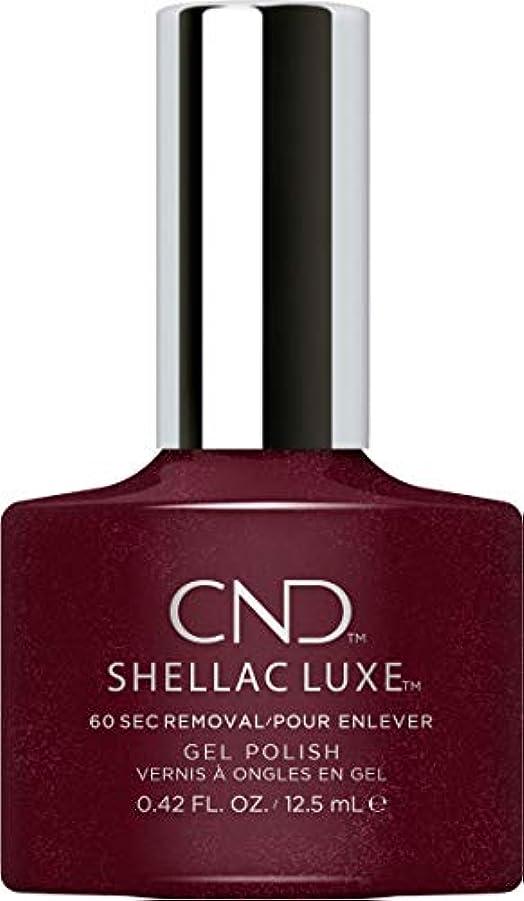 開いた重要な役割を果たす、中心的な手段となる小さいCND Shellac Luxe - Masquerade - 12.5 ml / 0.42 oz