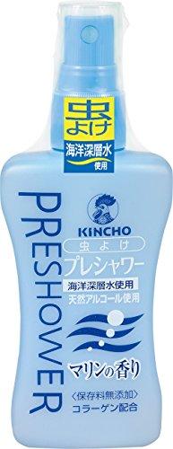 KINCHO プレシャワー お肌の虫除けスプレー マリンの香り 80ml