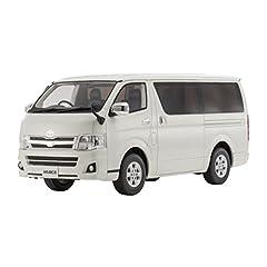 京商オリジナル 1/18 トヨタ ハイエース スーパー GL ホワイト 完成品