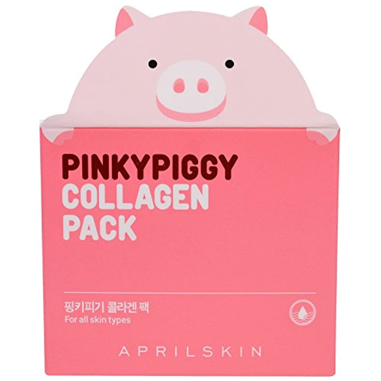 APRIL SKIN Pink Piggy Collagen Pack (並行輸入品)