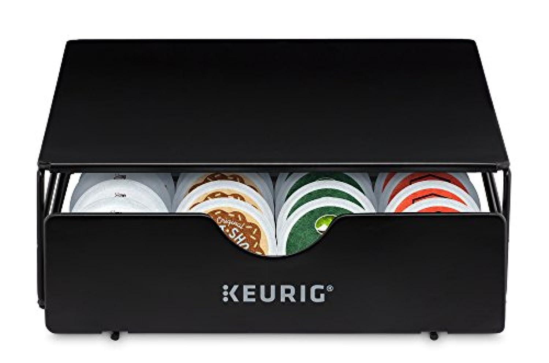 Keurig 5000197730 24 ctストレージ引き出しコーヒーマシンアクセサリー、24カウント、ブラック