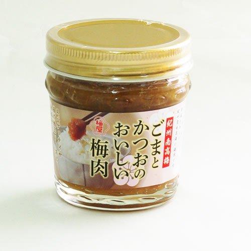 紀州南高梅 ごまとかつおのおいしい梅肉 100g