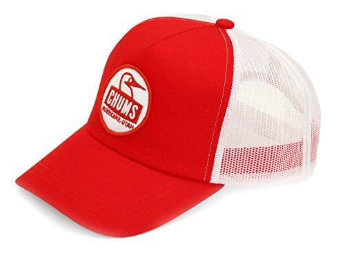 (チャムス) CHUMS ブービー フェース メッシュキャップ CH05-1109 Red/White Size Free