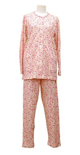 京都 ロマンス小杉 ペペナイト スムースニット レディース パジャマ Lサイズ ピンク 1-7210-5500-6101