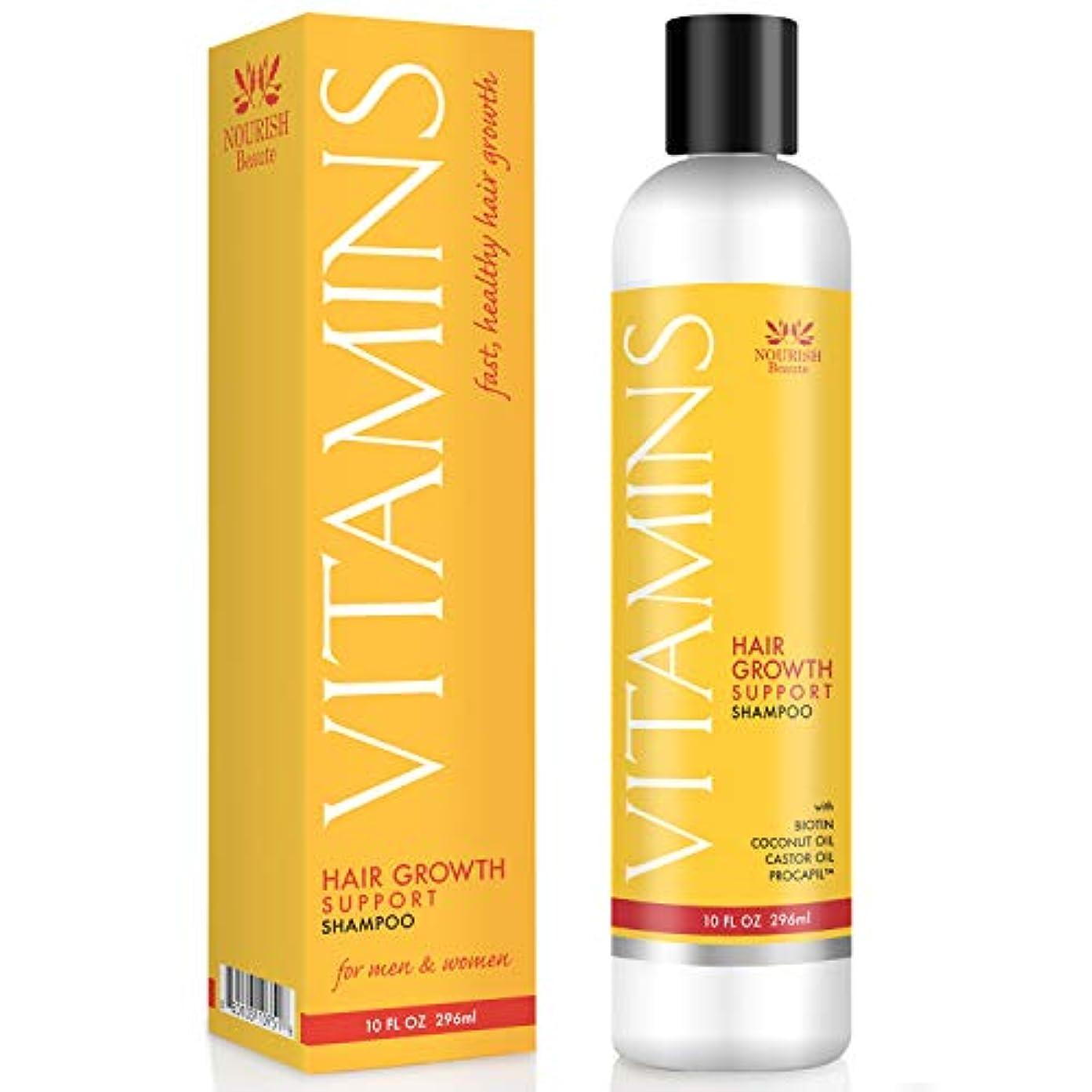 カスケード感じる範囲Vitamins Hair Loss Shampoo - 121% Regrowth and 47% Less Thinning - With DHT Blockers and Biotin for Hair Growth...