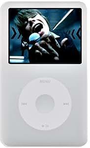 iJacket iPod classic 80GB用シリコンケース 液晶保護シート付 ホワイト RX-IPS6G80W
