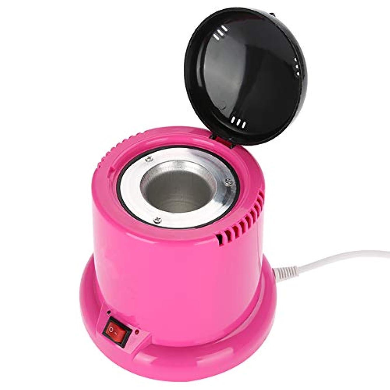 電卓トピック脅かす爪滅菌器 - 高温消毒箱ネイルツール消毒器美容院のネイルマニキュアセット、EUプラグ220V用