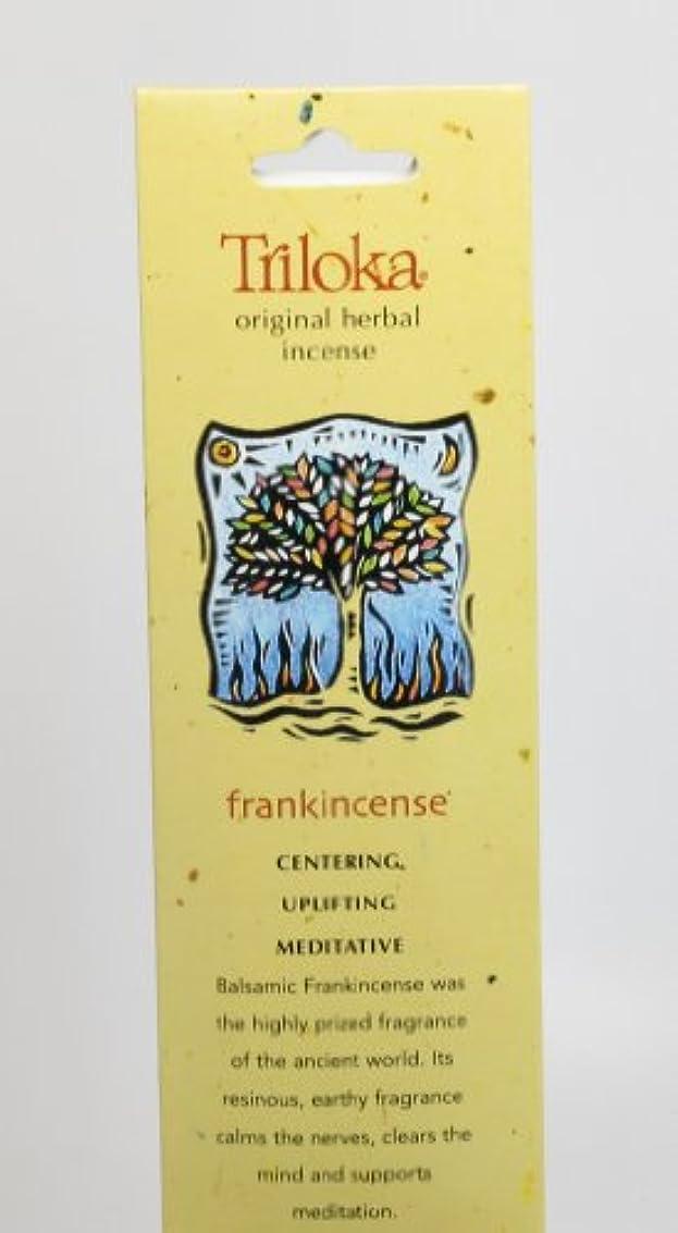自発的自発的攻撃Triloka - 元の草の香のFrankincense - 10棒