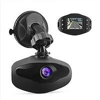 TOOGOO MiniダッシュカメラFHD 1080pガラスレンズ車DVRレコーダー170度ビュー角度1.5インチLCDスクリーン車ダッシュカムwith Gセンサーループ録画駐車場モニタブラック