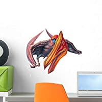 Quetzalcoatlus Looking around Wall Decal by Wallmonkeys Peel and Stick Graphic (18 in W x 16 in H) WM34554 [並行輸入品]