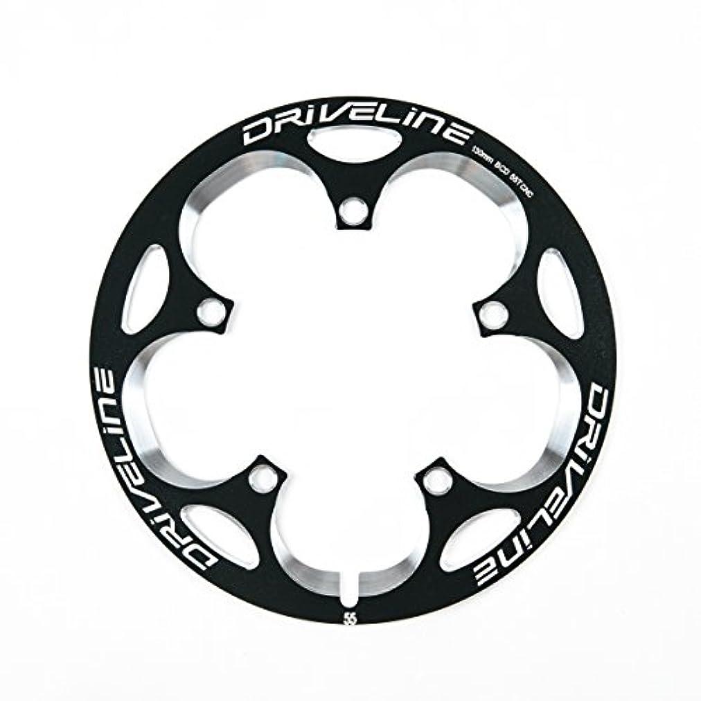 肺野望ダイヤモンドDriveline ドライブライン スーパーガード G2モデル 自転車用 バッシュガード チェーンリングガード BCD130mm 【正規輸入品】