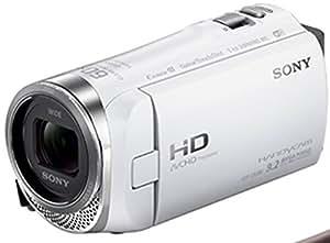 SONY HDビデオカメラ Handycam HDR-CX480 ホワイト 光学30倍 HDR-CX480-W