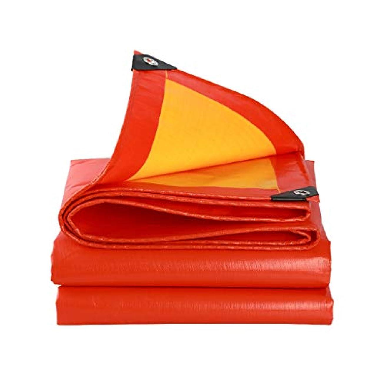 愛繕うそうでなければFH 重い防水シート、キャンプ/釣/園芸/家のために適した良質の防水日焼け止めの防水シートの平方メートル当たりの赤い防水シート210g / Multi-spec (サイズ さいず : 3 × 3 m)