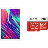 【SDカードセット】MediaPad M5 lite 8 Wi-Fiモデル 64GB +Samsung EVO Plus 32GB microSDHC UHS-I U1 95MB/s Full HD Nintendo Switch動作確認済 MB-MC32GA/ECO 国内正規保証品