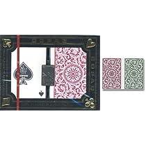 12Sets (24Decks) of COPAG 100%プラスチックトランプカード1546レギュラーサイズ2-deckセット–レギュラーインデックス