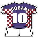 ボバン(クロアチア代表 10) ユニフォーム型ステッカー