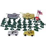 JAGENIE Military Sand Table Soldier Model Set Scene Building Kids Boy Educational Toys