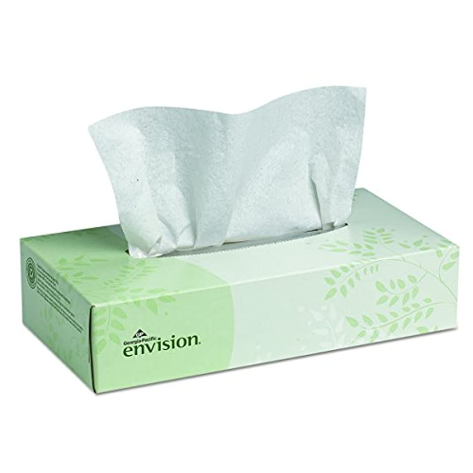 何故なのスラックアーネストシャクルトンGeorgia Pacific 47410 Envision Facial Tissue 100 per Box 30 per Carton