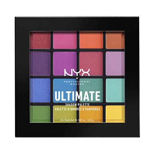 NYX(ニックス) UT シャドウ パレット 04 カラー・ブライト アイシャドウ