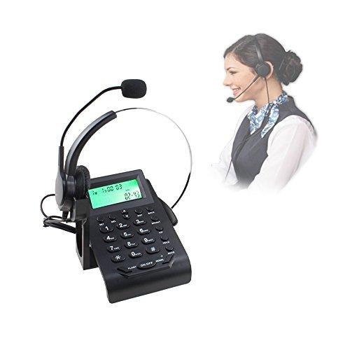 [해외]VINSOO 콜센터 전화 핸즈프리 콜센터 노이즈 모노 헤드셋 전화 청력 보호 기술/VINSOO Call Center Telephone~ Handsfree Call Center Noise Canceling Monaural Headset Telephone Hearing Protection Technology