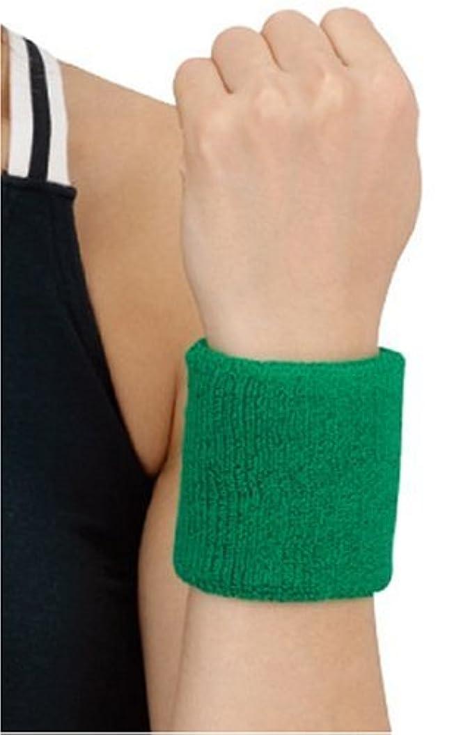 鏡解く本土D&M(ディーアンドエム) リストバンド [ WristBand ] 手首用 グリーン #240GRN グリーン フリー