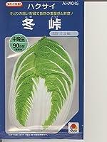冬峠 タキイ種苗の白菜種です