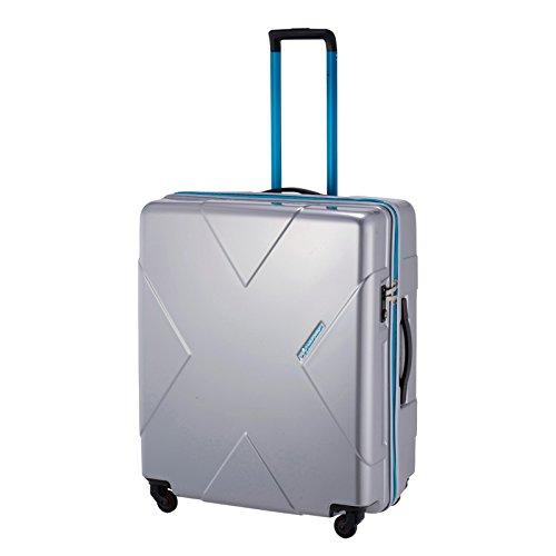 ヒデオデザイン スーツケース メガマックス 【67cm】 85-75955(HIDEODESIGN)シルバー