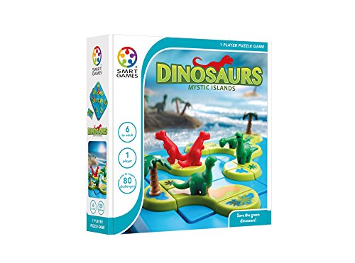 SMRT Games 恐竜アイランド パズル Dinosaurs Mystic Islands SG282JP 正規品