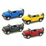 Set of 4 - Toyota FJ Cruiser 1/36 【並行輸入品】